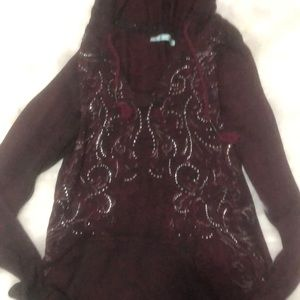 Maurices hooded lightweight top